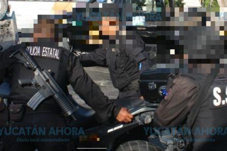 Policía herido de bala en el sur de Mérida