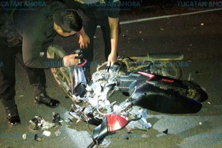 Trágico choque de motocicletas en el sur de Yucatán