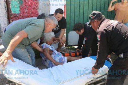 Mototaxista atropella y mata a la abuela del candidato del PRI en Hunucmá
