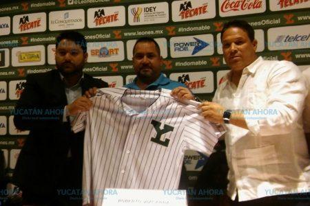 Chapo Vizcarra llega a Leones de Yucatán con una sola idea: ser campeones