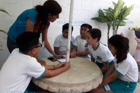 Con una iguana maya, van a competencia nacional de robótica