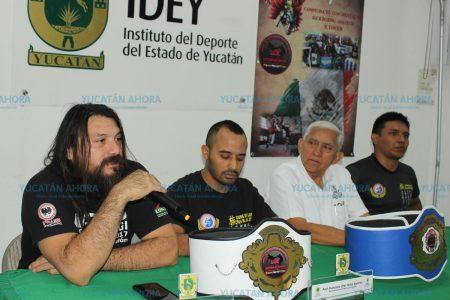 Yucatán, sede de un campeonato Intercontinental de kick boxing