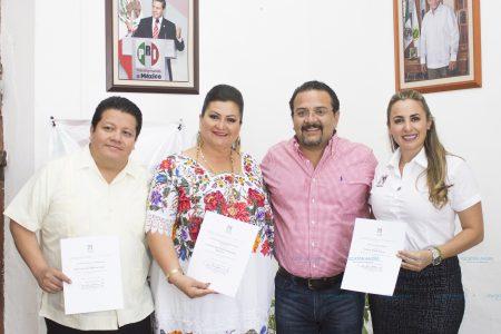 Jessica Saidén y Carmen Navarrete se integran al comité estatal del PRI