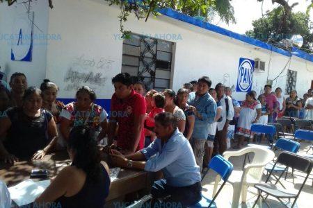 Palomean candidaturas del PAN en Yucatán