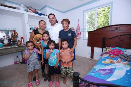 Necesario garantizar un hogar digno a todas las familias yucatecas: Vila