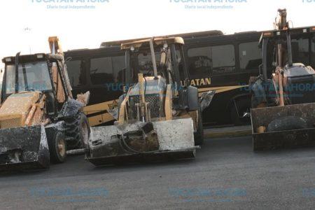 Recupera SSP maquinaria pesada robada en una obra de Ciudad Caucel