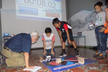Buscan a los mejores niños, niñas y adolescentes yucatecos en robótica