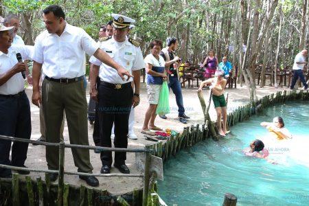 La inversión hace un mejor disfrute de los ojos de agua 'El Corchito'