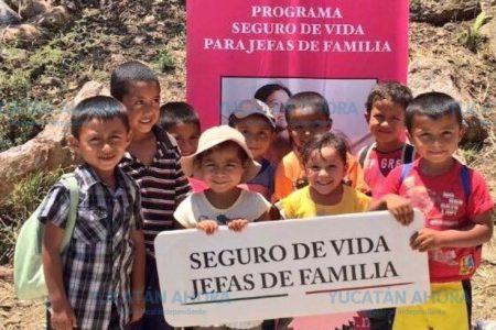Pagan apoyos para infantes y jóvenes en caso de orfandad
