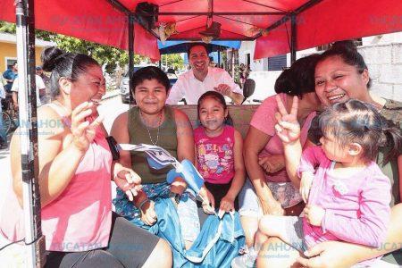 Las familias meridanas disfrutan lo invertido en Mérida en la época de Mauricio Vila