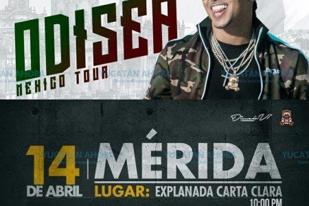 El cantante 'Ozuna' inicia en Mérida gira por México