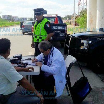 Garantizan la seguridad en la red carretera federal de Yucatán