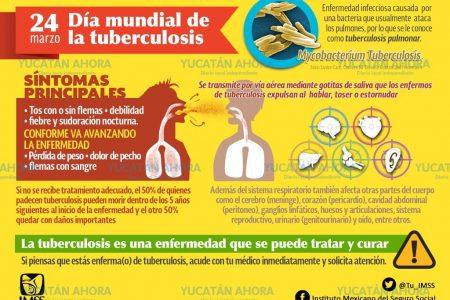 Sub-registro provocaría brote de tuberculosis en Yucatán