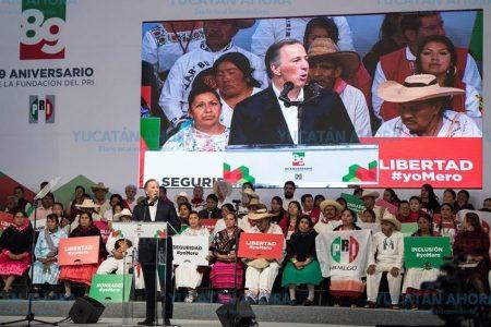 Los yucatecos han confiado en el PRI  y no los vamos a decepcionar: Sobrino