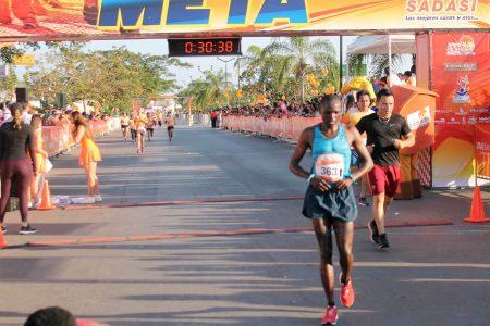 La carrera atlética de Sadasi no fue la excepción: la ganaron los kenianos