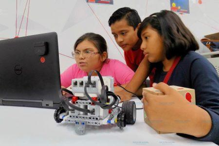 Nueve yucatecos están en la final de la Feria Nacional de Robótica
