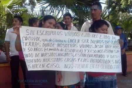Queman iglesia y casa en la lucha por tierras