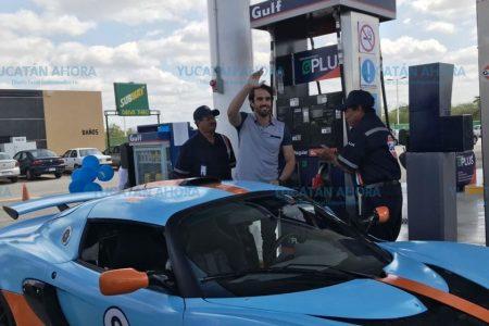 Con tecnología innovadora, Gulf abrió hoy dos gasolineras en Mérida