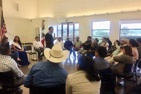 En Estados Unidos piden a Mauricio Vila creación de la Casa del Migrante Yucateco
