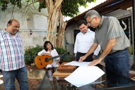 Se compromete Mauricio Sahuí a superar los objetivos planteados del Palacio de la Música