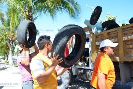 En dos días levantan 131 toneladas de cacharros en Mérida