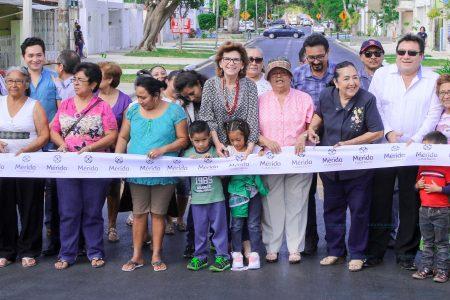 Luce renovada imagen la calle 65 que conecta colonias del Oriente con el centro de Mérida