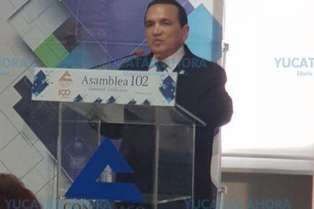 Empresarios locales refrendan apoyo a yucateco al frente de Concanaco