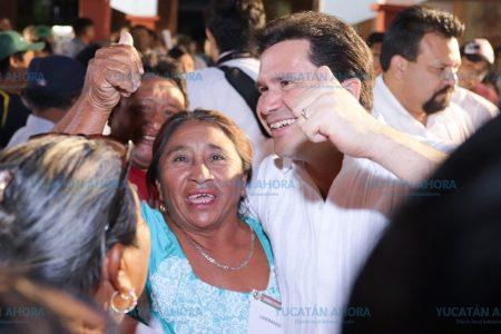 Nuestra propuesta es la que hará a Yucatán más grande, asegura Mauricio Sahuí