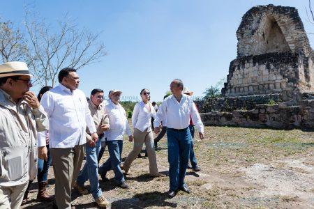 Rehabilitan zona arqueológica con dimensiones de Chichén, Uxmal y Dzibilchaltún