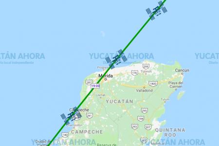 La Estación Espacial Internacional pasará sobre Mérida esta tarde