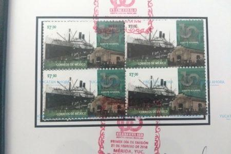 Diseñan estampilla postal por los 100 años del Agente Aduanal