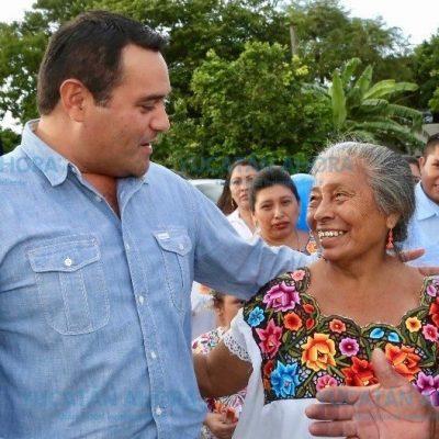 Estar cerca de la gente, la mejor fórmula para gobernar: Renán Barrera