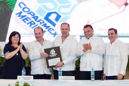 Destacan los niveles de conformidad entre socios de Coparmex al Gobierno de Yucatán