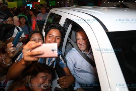 Llega Meade a Mérida para encabezar sus primeros actos de campaña
