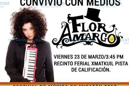 La 'Pianista Loca' que alegra corazones llega a Mérida