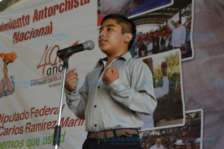 Organiza Movimiento Antorchista concurso estatal de poesía
