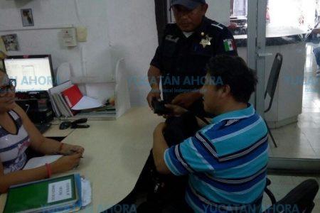Muestra de honradez ciudadana y policiaca en el centro de Mérida