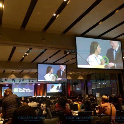 Premio Nobel reconoce a yucateca por trabajar en soluciones a la crisis climática