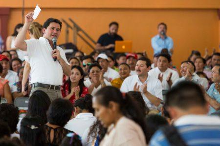 Yucatán se ha construido a base de trabajo: Mauricio Sahuí