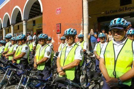En marcha operativo de Semana Santa en el centro de Mérida