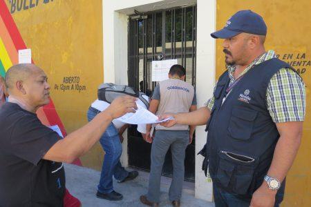 Por inseguros, clausuran otros dos bares en el centro de Mérida