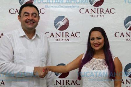 Por primera vez, una mujer al frente de la Canirac Yucatán