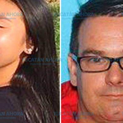 Localizan en Playa del Carmen a estadounidense que raptó a una jovencita