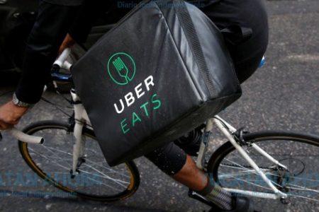 Ubereat busca también motociclistas y ciclistas para hacer entregas