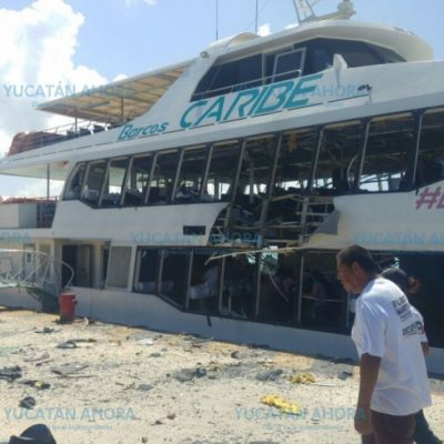 Detectan bombas en otra nave de Barcos Caribe, en Cozumel