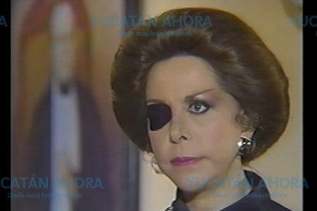 Muere la actriz María Rubio, reconocida por su personaje 'Catalina Creel'