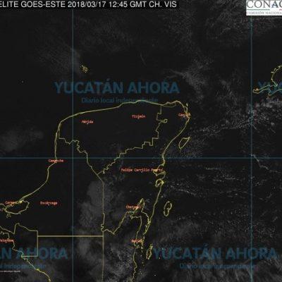 Pronostican sábado muy caluroso en Yucatán: se esperan hasta 40 grados