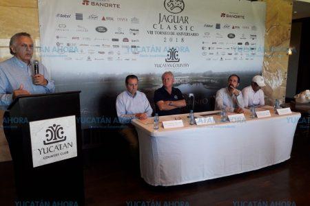 Anuncian VIII Torneo de Aniversario Jaguar Classic 2018 en el Country Club