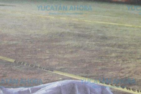 Jugó su último partido en un campo de futbol en el sur de Mérida