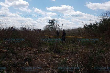 Lo caza la muerte en el paraje de la hamaca, en montes de Mayapán